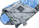 Спальний мішок-кокон Tramp Siberia 3000 (лівий). Спальник кокон. Туристический спальник, фото 7