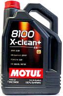 Motul 8100 X-CLEAN+ 5W-30, 5L, 854751