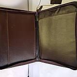 Папка для документов из натуральной кожи, фото 7