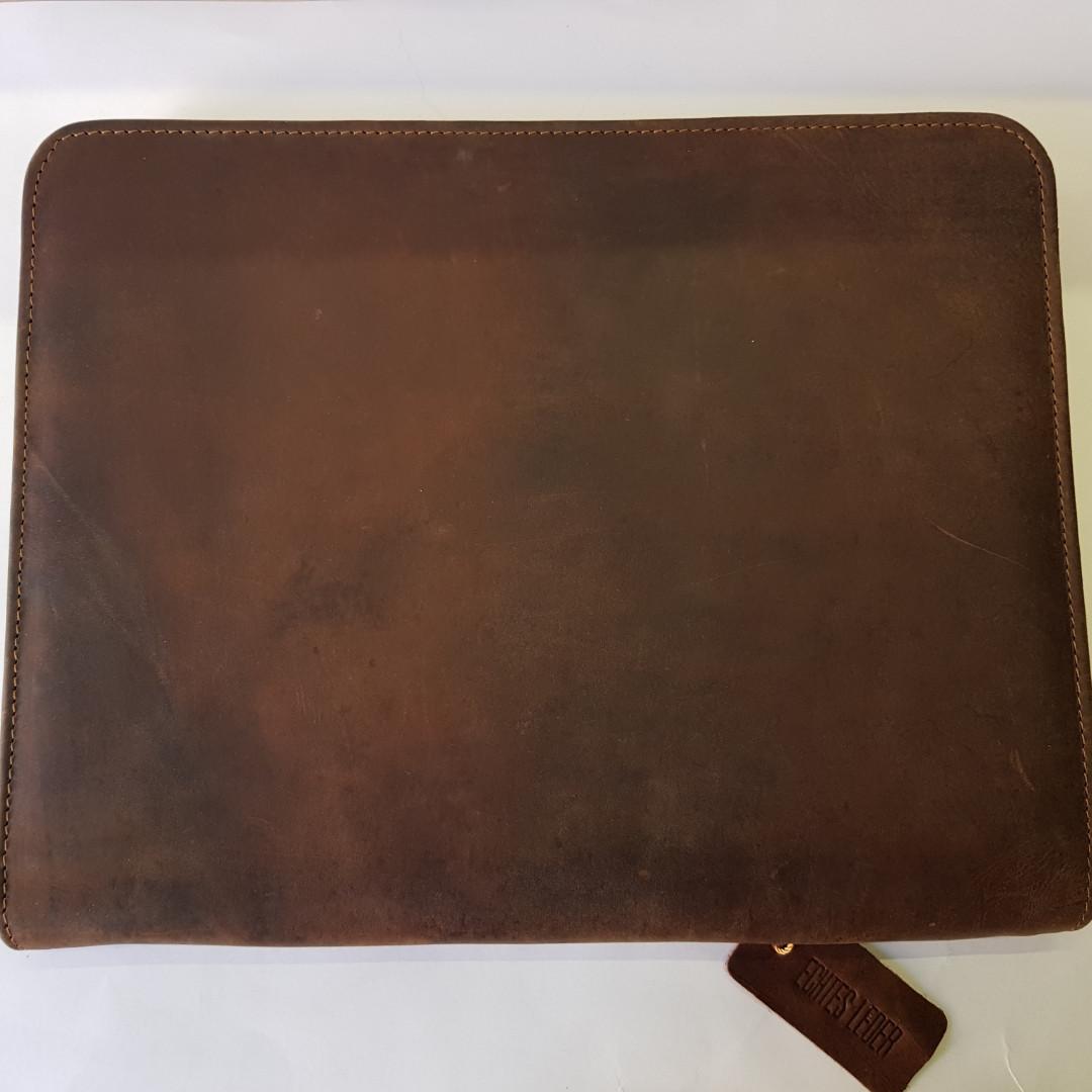 Папка для документов из натуральной кожи