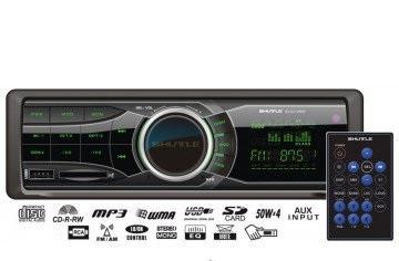 Автомагнитола  SUD-350 Black/Green USB/SD ресивер