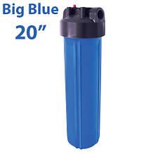 Магистральный механический фильтр БИГ БЛЮ 20 - подключение 1 дюйм