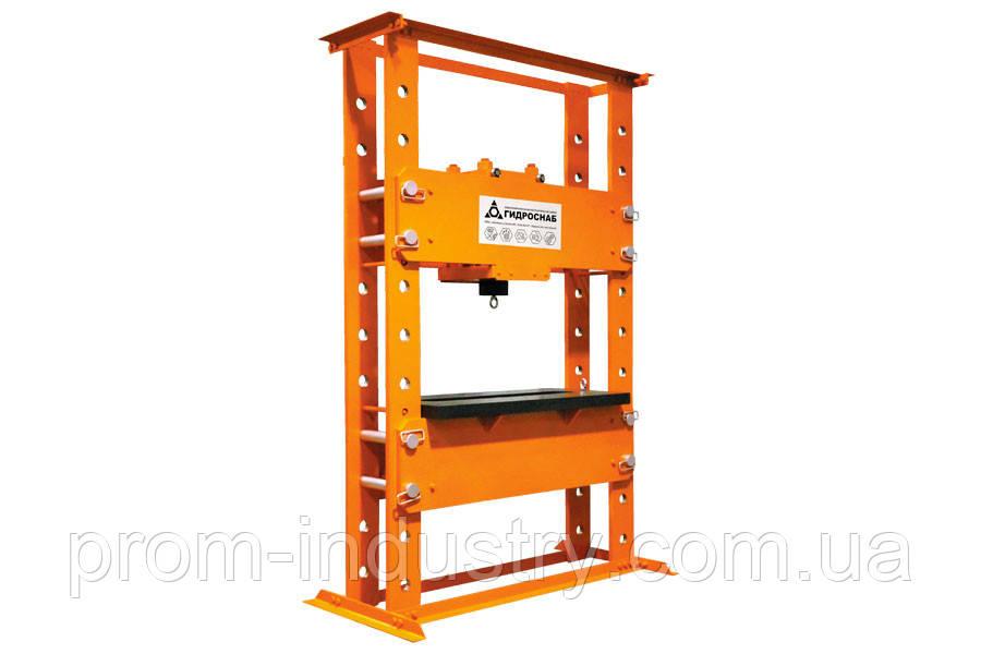 Пресс гидравлический стационарный (PPH100-300M)
