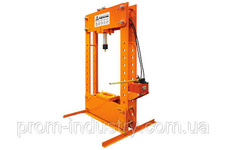 Пресс гидравлический стационарный (PPH100-300M), фото 2