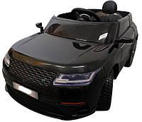 Электромобиль детский Range F4 с пультом управления и мягкими колесами EVA черный (8033)