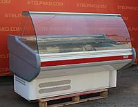 Холодильная витрина охлаждаемая «Mawi WCHI 1.7/1.1» 1.7 м. (Польша), Широкая выкладка 70 см., Б/у, фото 1