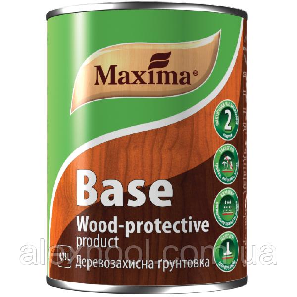 MAXIMA Деревозащитная грунтовка 2,5 л