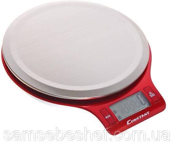 Кухонні електронні ваги Constant 5 кг 14192-2038