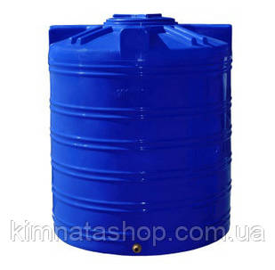 Емкость для воды 1000 л вертикальная двухслойная пластиковая пищевая