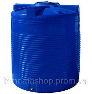 Емкость для воды 3000 л вертикальная двухслойная пластиковая