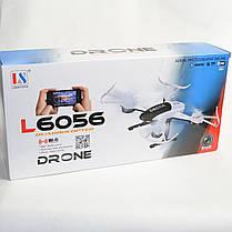 Радиоуправляемый квадрокоптер 2,4 gz Led 4 винта Drone, фото 2