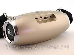 JBL Xtreme 5 XW-04 копия, портативная колонка 10W с Bluetooth FM и MP3, золотая, фото 3