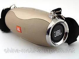 JBL Xtreme 5 XW-04 копия, портативная колонка 10W с Bluetooth FM и MP3, золотая, фото 2