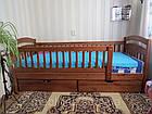"""Дитяче ліжко з дерева """"Каріна—Люкс"""", фото 2"""