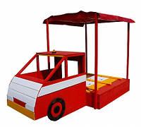Песочница - Пожарная машина, фото 1
