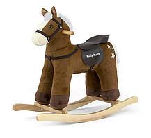Лошадка-качалка Milly Mally PePe Dark Brown (2198)