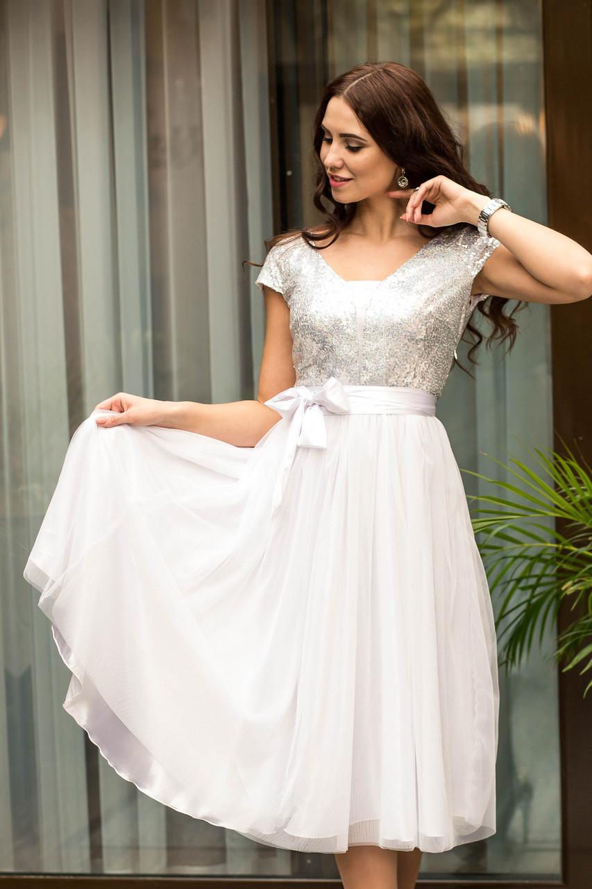 c9c87f011d255af Купить Женское нарядное вечернее платье с пайетками 2019 - (пл-2) по ...