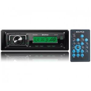 Автомагнитола SHUTTLE SUD-387 Black/Green USB/SD ресивер