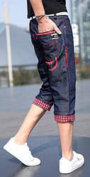 Джинсовые мужские шорты, фото 3