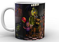 Кружка Five Nights At Freddy's Пять ночей с Фредди постер FN.02.002