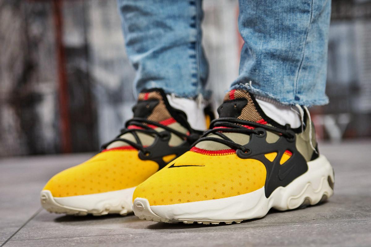 Стильные Кроссовки женские ► Nike React - желтые