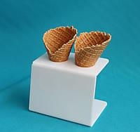 Подставка под мороженное 2 рожка, фото 1