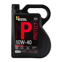 Полусинтетическое моторное масло -  BIZOL Protect 10W40 5л
