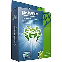 Антивирус Dr. Web Mobile Security + Компл. защита 5 моб устр 1 год эл. лиц. (LHM-AA-12M-5-A3)