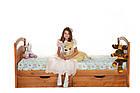 """Детская одноярусная кровать из дерева """"Карина"""", фото 3"""