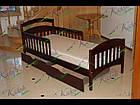 """Детская одноярусная кровать из дерева """"Карина"""", фото 4"""