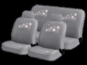 Чехлы для автомобильных сидений Hadar Rosen FLOWERS Серый 10221