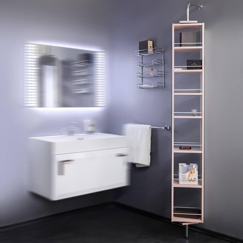 Пенал для ванной Fancy Marble SCMR 270х1700х200
