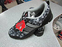 Мужские кроссовки Athletic 9005 камуфляж черно-серый код 41А