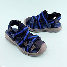 Босоножки на мальчика спорты с закрытым носком Сниний Том.м размер 26,28