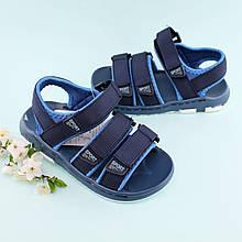 Пенковые сандалии спортивные на липучках  мальчику Том.м размер 27,30