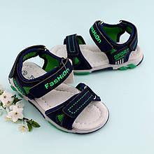Босоножки спортивные сандалии для мальчика Сниний Том.м размер 26,28