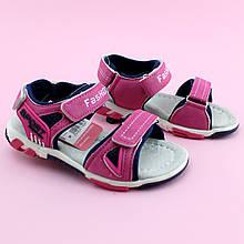 Босоножки спортивные сандалии Розовые девочке Том.м размер 26
