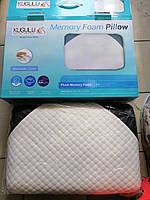 Подушка Kugulu Memory с памятью формы, 60x40x14