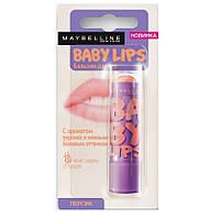 Защитный бальзам для губ Maybelline   ПерсикОРИГИНАЛ
