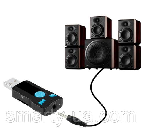 Автомобиль Беспроводной Bluetooth AUX аудио приемник адаптер 3,5 мм джек Aux Bluetooth громкой связи Car Kit П