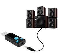 Автомобиль Беспроводной Bluetooth AUX аудио приемник адаптер 3,5 мм джек Aux Bluetooth громкой связи Car Kit П, фото 1