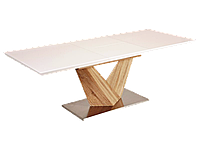 Стол обеденный деревянный ALARAS Signal белый