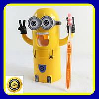 Дозатор зубной пасты Миньон Brush Holder, фото 1