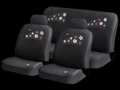 Чехлы для автомобильных сидений Hadar Rosen FLOWERS Черный 10220, фото 2