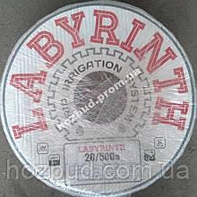 Лента капельного орошения щелевая LABYRINTH 8 mills через 20 см 500 м