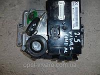 Блок управления двигателем комплект 2.5 DCI 06- NISSAN PRIMASTAR 00-14 (НИССАН ПРИМАСТАР)