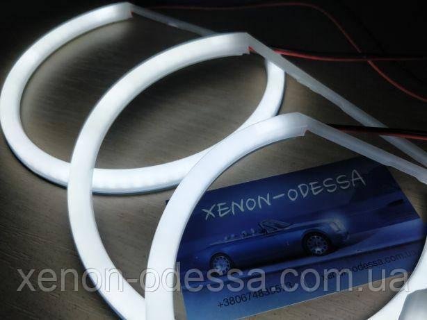 Ангельские глаза Cotton LED BMW E46 линзованный  Angel Eyes BMW E46 Projector