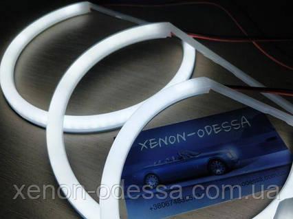 Ангельские глаза Cotton LED BMW E46 нелинзованный  Angel Eyes BMW E46 NON Projector, фото 2