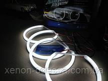 Ангельские глаза Cotton LED BMW E46 нелинзованный  Angel Eyes BMW E46 NON Projector, фото 3