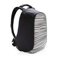 """Городской рюкзак-антивор XD Design Bobby Compact Prints 14"""", с USB портом, влагозащищенный, 11л"""